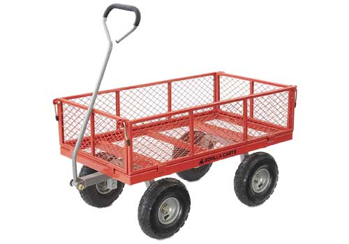 heavy duty garden carts