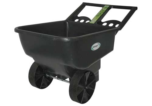 plastic garden cart wheels