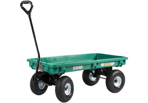 flatbed yard cart